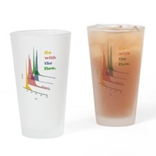 Go with the flow (cytometry) Drinking Glass