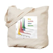 Go with the flow (cytometry) Tote Bag