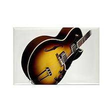 Cute Sunburst guitar Rectangle Magnet