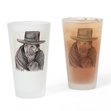The Thinker Drinking Glass