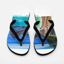 McWay Falls Big Sur Flip Flops