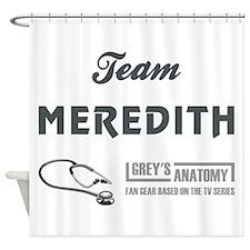 TEAM MEREDITH Shower Curtain