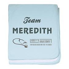 TEAM MEREDITH baby blanket