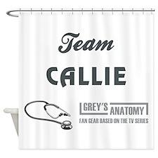 TEAM CALLIE Shower Curtain