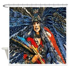 High Priestess Shower Curtain