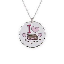 I Love Chocolate Necklace