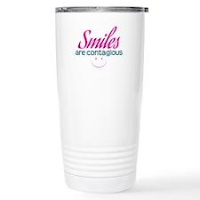 Smiles Are Contagious - Travel Coffee Mug