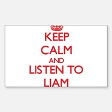 Keep Calm and Listen to Liam Decal
