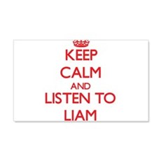 Keep Calm and Listen to Liam Wall Decal