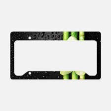 Bamboo Orchid License Plate Holder