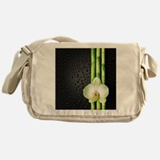 Bamboo Orchid Messenger Bag