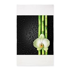 Bamboo Orchid 3'x5' Area Rug