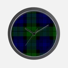 Black Watch Wall Clock
