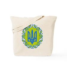 Ukrainian Trident Tote Bag