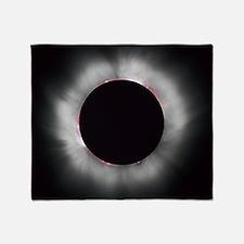 Total Solar Eclipse 1999 Throw Blanket