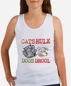 CATS Rule Dogs Drool Tank Top