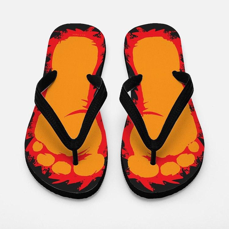 Bigfoot Feet Flip Flops
