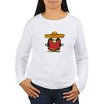 Fiesta Penguin Women's Long Sleeve T-Shirt
