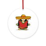 Fiesta Penguin Ornament (Round)
