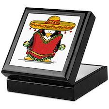 Fiesta Penguin Keepsake Box