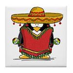 Fiesta Penguin Tile Coaster