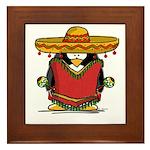 Fiesta Penguin Framed Tile