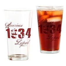 1934 American Legend Drinking Glass