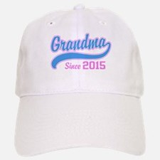 Grandma Since 2015 Baseball Baseball Cap