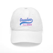 Grandma Since 2015 Baseball Cap