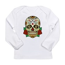Sugar Skull Long Sleeve Infant T-Shirt