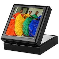 Rainbow Dancers Keepsake Box