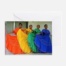 Rainbow Dancers Greeting Card