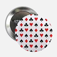 "Card Suits 2.25"" Button"