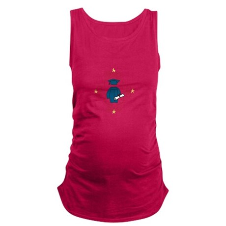Cap And Gown Maternity Tank Top