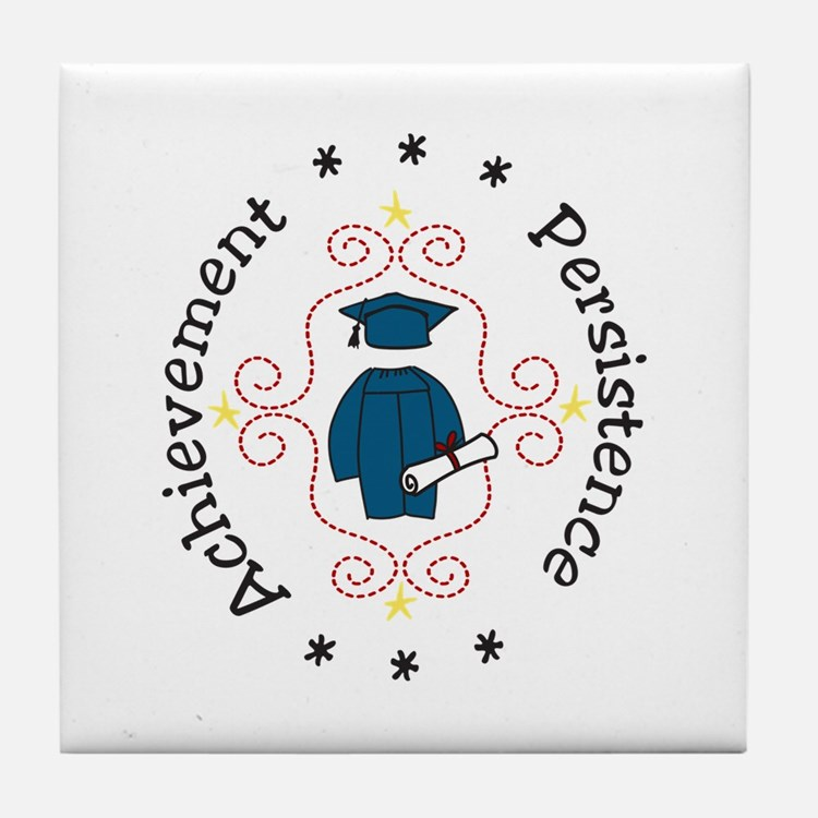 Achievement Persistence Tile Coaster
