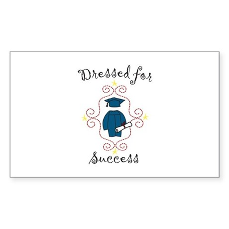 Dressed for Success Sticker