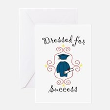 Dressed for Success Greeting Cards