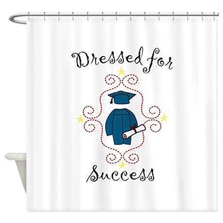Dressed for Success Shower Curtain