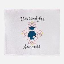 Dressed for Success Throw Blanket