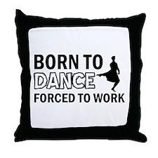 scottish highland dance designs Throw Pillow
