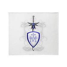 St. Michael's Sword Throw Blanket