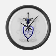 St. Michael's Sword Large Wall Clock