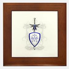 St. Michael's Sword Framed Tile