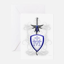 St. Michael's Sword Greeting Cards (Pk of 10)