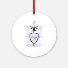 St. Michael's Sword Ornament (Round)