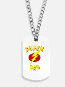 Super Dad Dog Tags