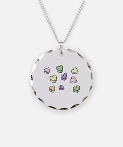 Conversation Hearts Necklace