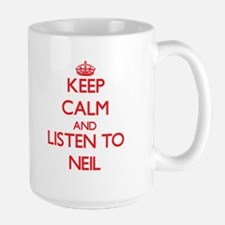 Keep Calm and Listen to Neil Mugs