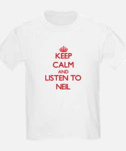 Keep Calm and Listen to Neil T-Shirt