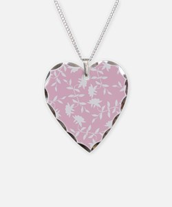Light Pink Tropical Floral Necklace